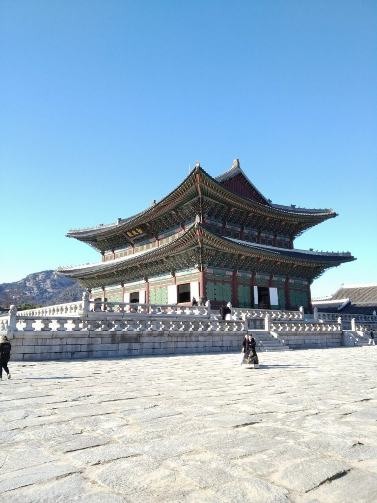 seoul in winter palace