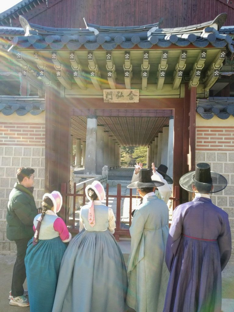 gyeongbokgung hanbok seoul