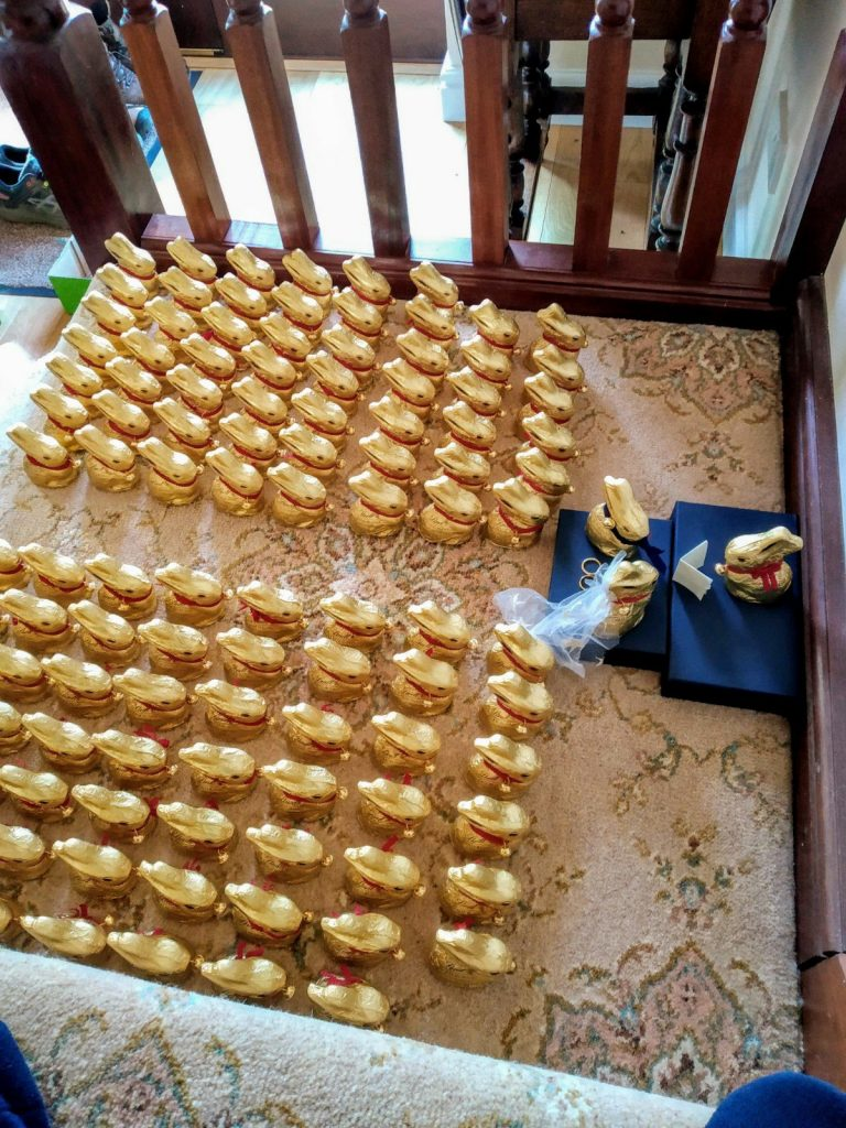 Updated: a tale of 115 Lindt bunnies 4