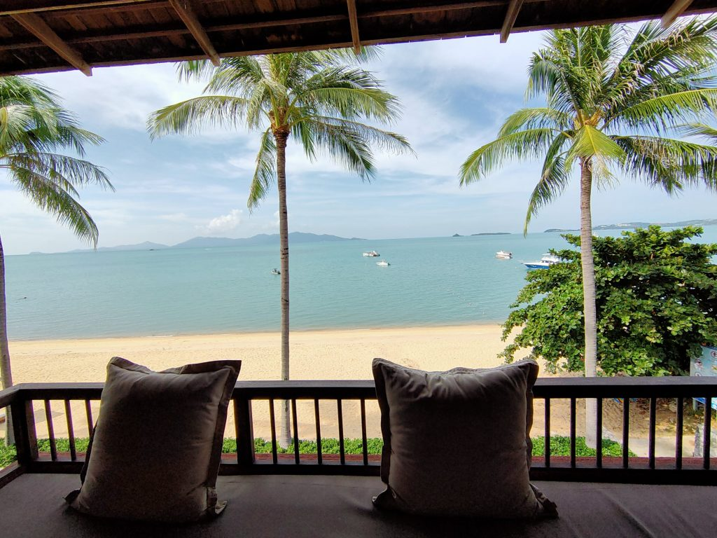 A lucky break in Koh Samui in the shadow of Covid-19 1