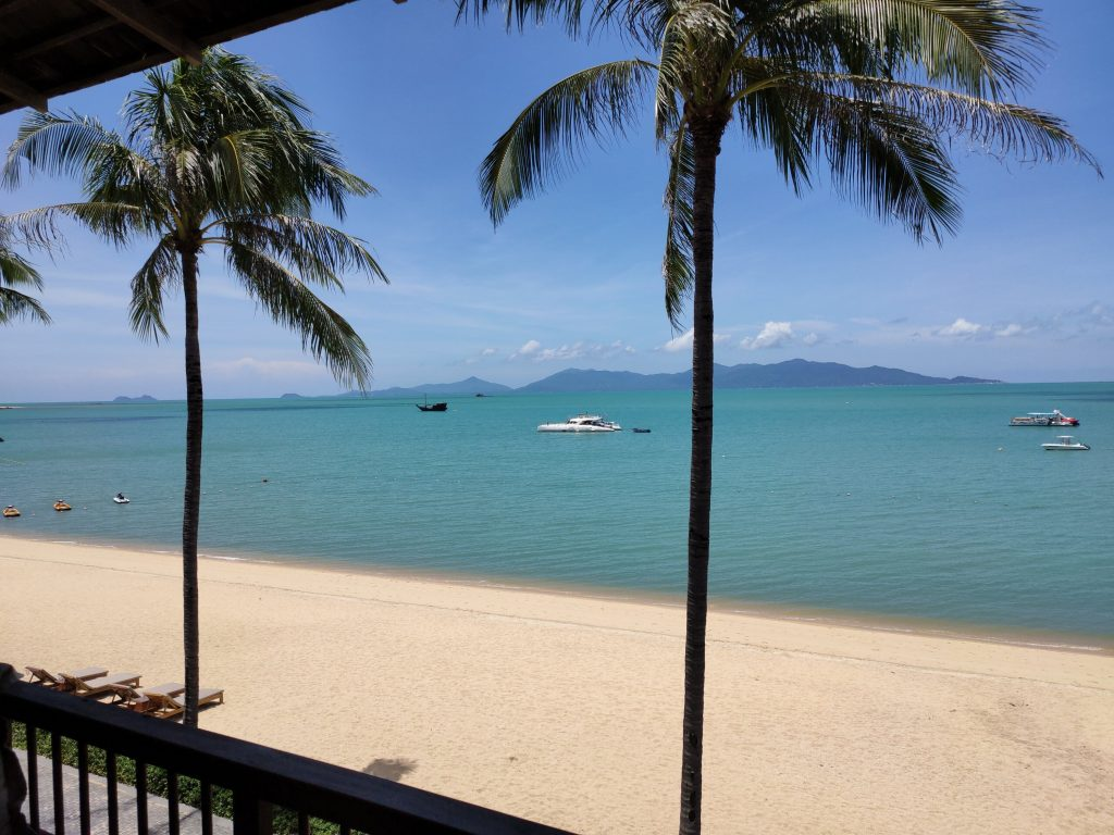 A lucky break in Koh Samui in the shadow of Covid-19 2