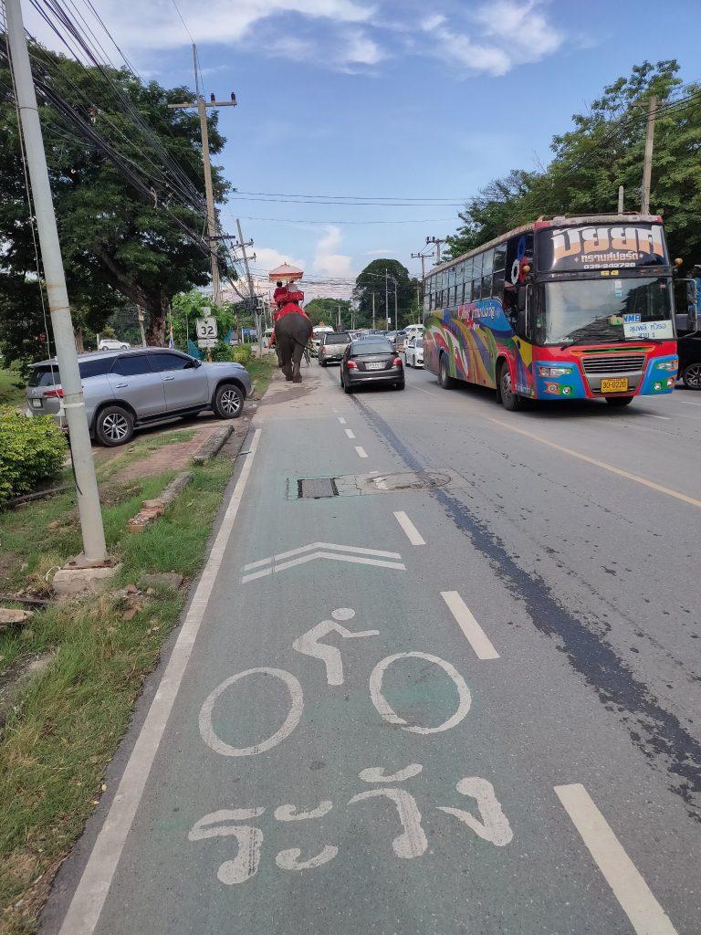ayutthaya cycling