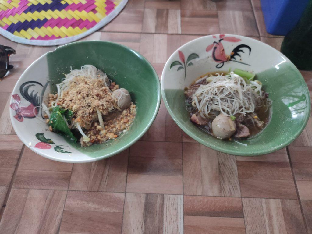 Pa Lek boat noodle Ayutthaya