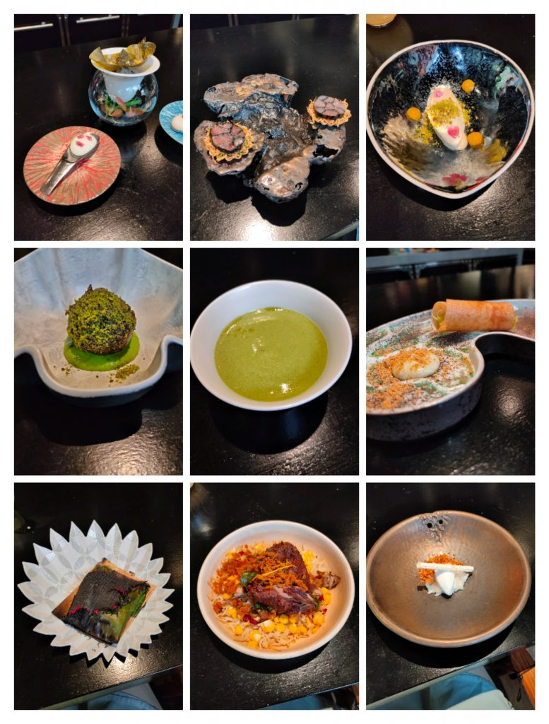 Review: A stellar Lunch at Gaggan Anand, Bangkok