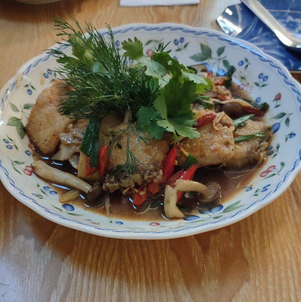 seabass polygonatum tana bangkok restaurant