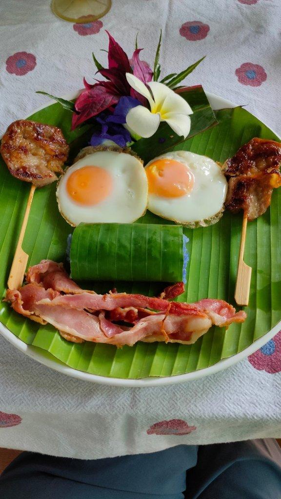 bliss khao sok boutique resort breakfast