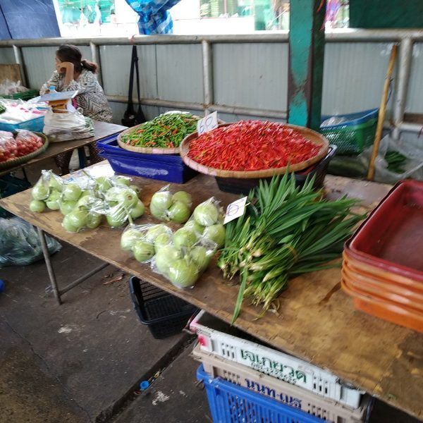 Khlong Toei market chillis